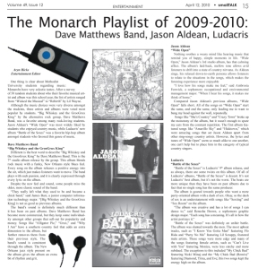 April 2010 - Entertainment page